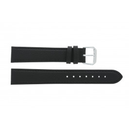 Horlogeband Condor 054.01 Leder Zwart 12mm