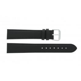 Horlogeband Condor 054R.01 Leder Zwart 10mm