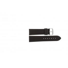 Horlogeband Condor 283R.02 Leder Bruin 22mm