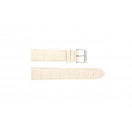 Horlogeband Universeel 285R.15 Croco leder Roze 20mm