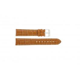 Horlogeband Universeel 285.27 Croco leder Bruin 20mm