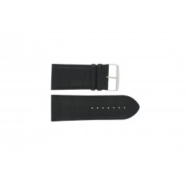 Horlogeband Universeel 305R.01 Leder Zwart 30mm
