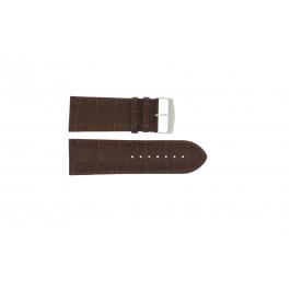 Horlogeband Universeel 305R.02 Leder Bruin 30mm
