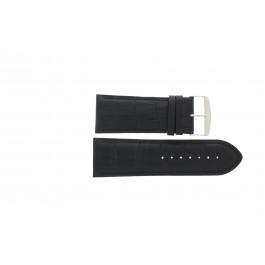 Horlogeband Universeel 305R.01 Leder Zwart 28mm