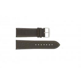 Horlogeband Universeel 307R.02 Leder Bruin 20mm