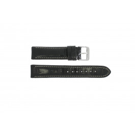 Horlogeband Universeel 61324.10.18 Leder Zwart 18mm