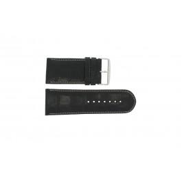 Horlogeband Universeel 61324.28Z Leder Zwart 28mm