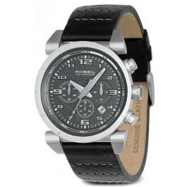 Horlogeband Fossil CH2494 Leder Zwart 22mm
