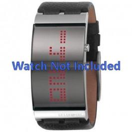 Horlogeband Diesel DZ7092 Leder Zwart 26mm