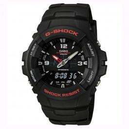 Horlogeband Casio G-100 / G-101 / G-200 / G-2110 / G-2300 Kunststof/Plastic Zwart 16mm