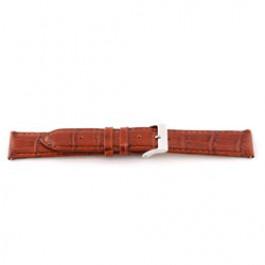 Horlogeband Universeel E335 Leder Bruin 16mm