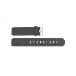 Horlogeband Jacob Jensen 400 / 420 / 421 / 422 / 423 Rubber Zwart 12mm