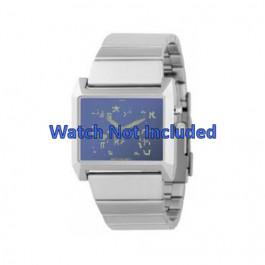 Horlogeband Fossil JR8539 Staal 28mm