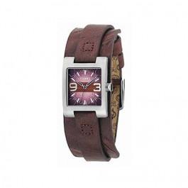 Horlogeband Fossil JR9515 Leder Bruin 12mm