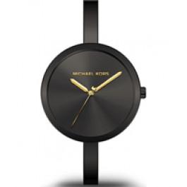 Horlogeband Michael Kors MK3541 Staal Zwart 6mm