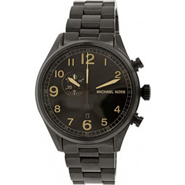 Horlogeband Michael Kors MK7067 Staal Zwart 22mm