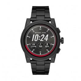 Michael Kors horlogeband MKT5029 Staal Zwart 24mm