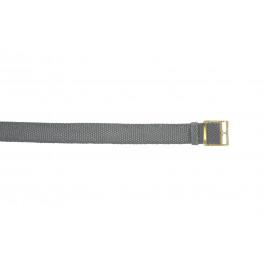 Horlogeband Universeel PRLN.20.GRI Onderliggend Nylon/perlon Grijs 20mm