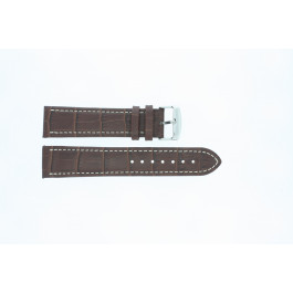 Horlogeband Universeel 308R.02 Leder Bruin 22mm