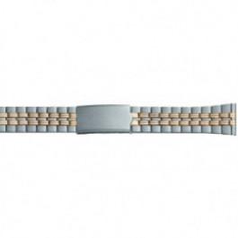 Horlogeband Universeel DD100 Staal Bi-Color 20mm