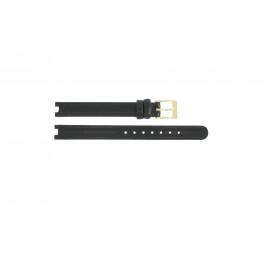 Horlogeband Rado R0120435794016 / R070852710 / Coupole Leder Zwart 4mm