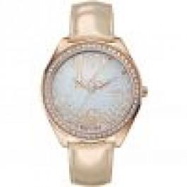 Horlogeband Guess W0337L3 Leder Rosé