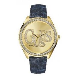 Horlogeband Guess W85034L1 Textiel Jeans 20mm