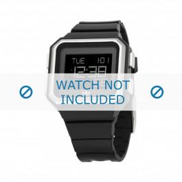 Horlogeband Adidas ADH4011 Silicoon Zwart 18mm