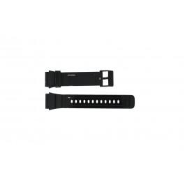 Horlogeband Adidas ADH6092 Kunststof/Plastic Zwart 22mm