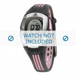 Horlogeband Adidas ADP1638 Rubber Zwart 19mm