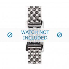 Armani horlogeband AR-0109 Staal Zilver 14mm