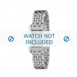 Armani horlogeband AR-0114 Staal Zilver 14mm