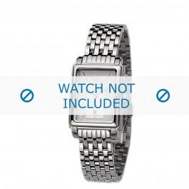 Armani horlogeband AR-0138 Staal Zilver 14mm