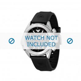 Horlogeband Armani AR0548 Rubber Zwart 23mm