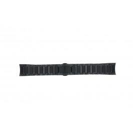 Horlogeband Armani AR1451 Keramiek Zwart 24mm