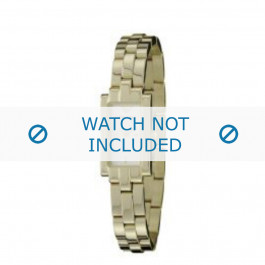 Armani horlogeband AR-5464 Staal Goud (Doublé) 23mm