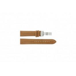 Horlogeband Armani AR5325 Leder Bruin 20mm
