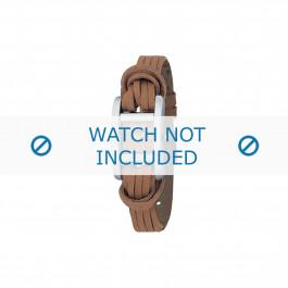 Horlogeband Armani AR5520 Onderliggend Leder Bruin 12mm