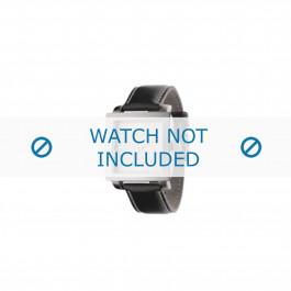 Armani horlogeband AR-5804 Leder Bruin 24mm