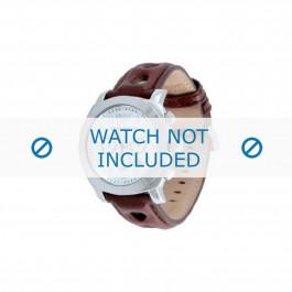 Armani horlogeband AR-5824 Leder Donkerbruin