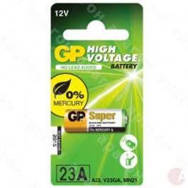 GP Overigen Batterij 23AE / A23 / V23GA / MS21 / MN21 - 12v