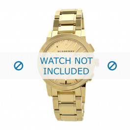 Burberry horlogeband BU9753 Staal Goud