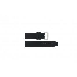 Horlogeband Camel BC51039 / 5420-5429 / 5470-5479 Rubber Zwart 24mm