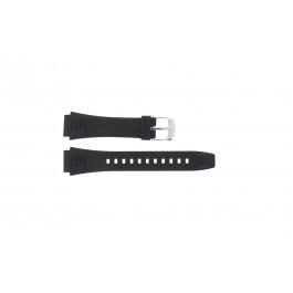 Horlogeband EFA-124-1AVW / 10268556 Kunststof/Plastic Zwart 20mm