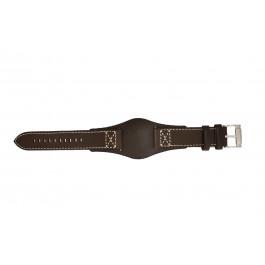 Horlogeband Fossil CH2599 Onderliggend Leder Bruin 22mm