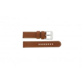 Horlogeband Danish Design IQ12Q711 / IQ12Q888 Leder Bruin 20mm