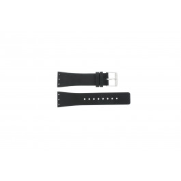 Horlogeband Danish Design IV13Q641 / IV12Q641 / IV12Q767 / IV13Q767 Leder Zwart 23mm