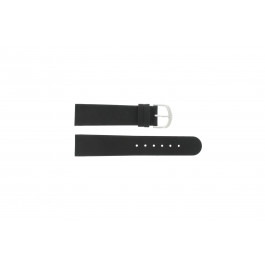 Horlogeband Danish Design IQ13Q732 Leder Zwart 20mm