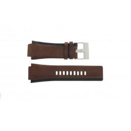 Horlogeband Diesel DZ1092 Leder Bruin 22mm