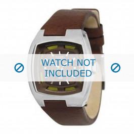 Horlogeband Diesel DZ1101 Leder Bruin 14mm